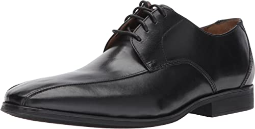 Clarks Men& 039;s Gilman Mode Oxford, schwarz Leather, 12 Medium US