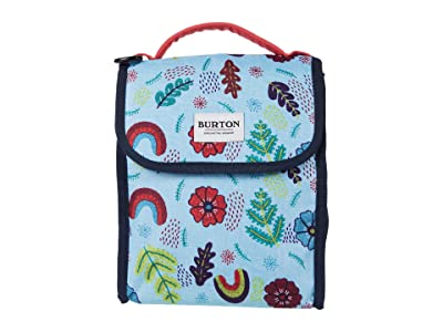 Burton Lunch Sack (Embroidered Floral Print) Bags