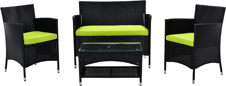online shop LASBAK Outdoor Patio Furniture Conversation Rattan It is very popular Wicke Sets PE