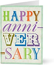 Hallmark Business Work Anniversary Card (Upbeat Work Anniversary) (Pack of 25 Greeting Cards)
