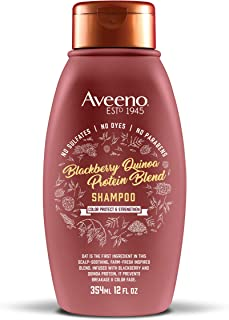 AVEENO Color Protect & Strengthen+ Blackberry & Quinoa Shampoo (12oz)
