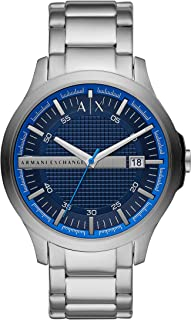 Armani Exchange Men's Three-Hand Date Stainless Steel Watch AX2408
