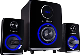 Hiditec H500 2.1 ses sistemi (Bluetooth 4.1, USB, SD, 50 W RMS, Line-In).