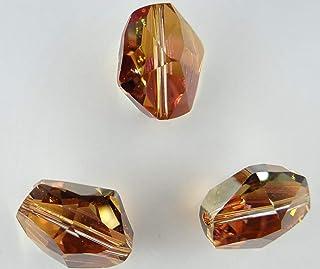 Swarovski 5523 16 CO *** 4 Perlas hexagonales Irregulares 16 mm Crystal Copper