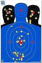 Big Dawg Targets 12 x 18 Triple Silhouette Reactive Splatter Shooting Target