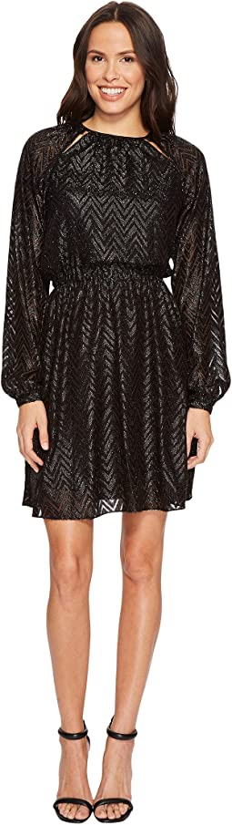 MICHAEL Michael Kors - Lurex Jacquard Dress