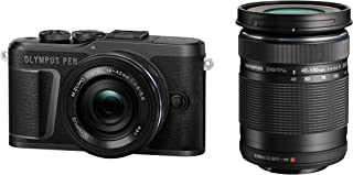 OLYMPUS ミラーレス一眼カメラ PEN E-PL10 EZダブルズームキット ブラック