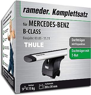 Rameder Komplettsatz, Dachträger WingBar EVO für Mercedes Benz B KLASSE Sports Tourer (114722 05396 2)