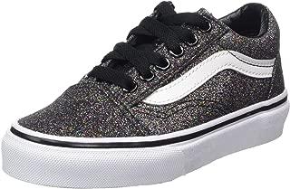 Vans Kids Glitter Old Skool Skateboarding Shoes