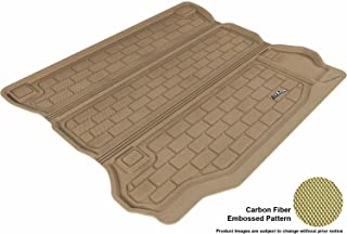 3D MAXpider Cargo Custom Fit All-Weather Floor Mat for Select Jeep Wrangler Unlimited Models - Kagu Rubber (Tan)