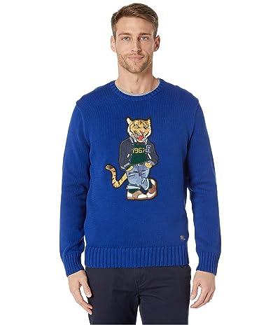 Polo Ralph Lauren Cotton Crew Neck Sweater (Blue) Men