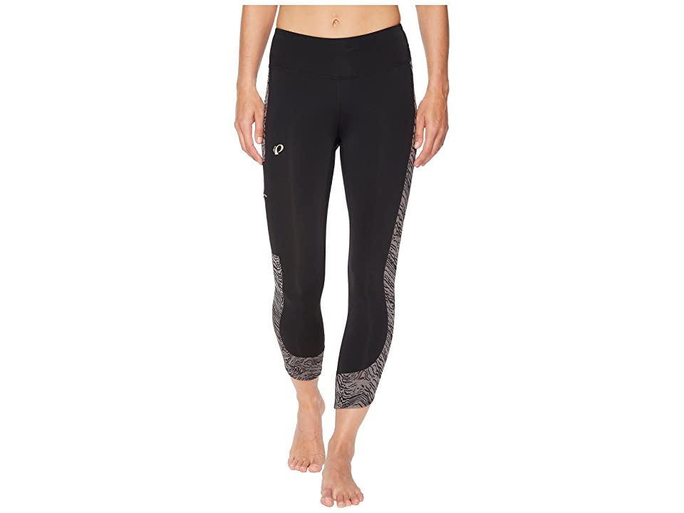 Pearl Izumi Escape 3/4 Tights Print (Black/Smoked Pearl Phyllite) Women