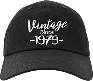 Cap 40th Birthday Gift Vintage Aged To Be Perfected Since 1979 Baseball Hat