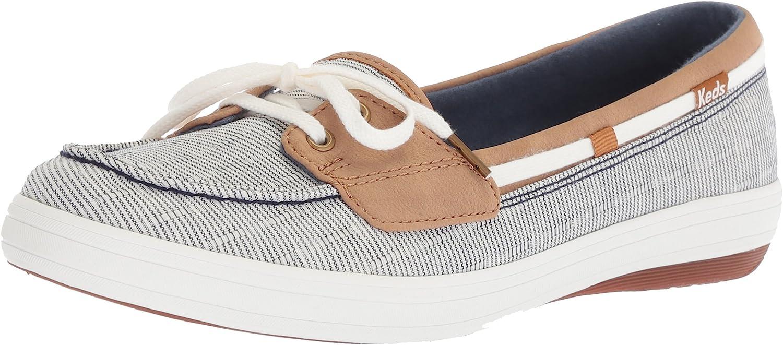 Keds Women's Glimmer Railroad Stripe Sneakers