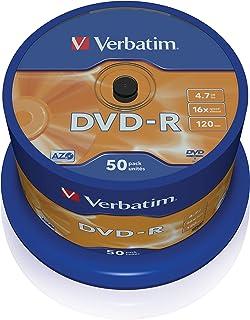 Verbatim 43548 DVD-R 16x 50 Pack Spindle