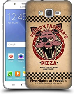 Official Five Nights at Freddy's Foxy Freddy Fazbear's Pizza Hard Back Case Compatible for Samsung Galaxy J7