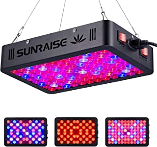 1000W LED Grow Light Full Spectrum for Indoor Plants Veg and Flower SUNRAISE LED Grow Lamp with Daisy Chain Triple-Chips L...