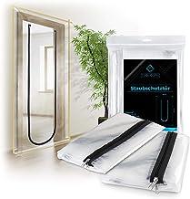 TOOLCORE Staubschutztür mit Reißverschluss 1,10x2,20m | 2 Stück | Ideal als Staubschutzwand, Bautür, Schmutzschleuse