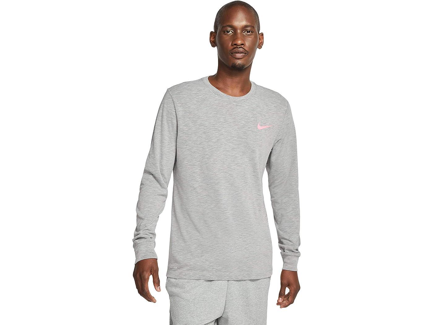 Nike Dri-FIT Cotton Slub Tee Long Sleeve Graphic