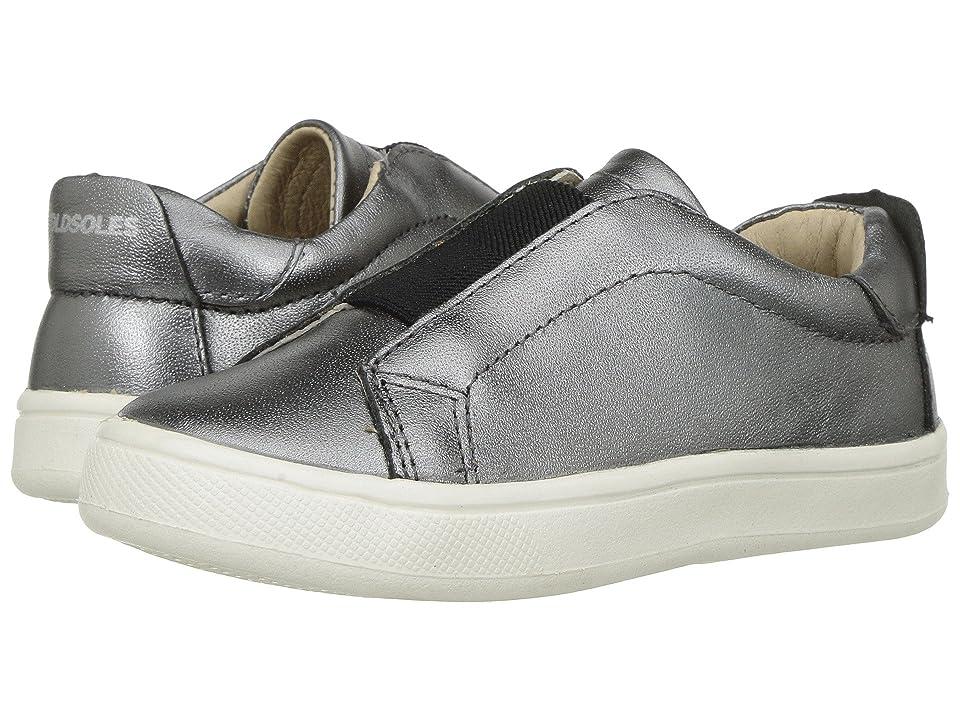 Old Soles Peak Shoe (Toddler/Little Kid) (Rich Silver/Black) Boy