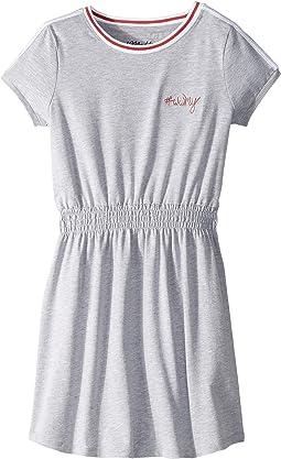 Knit Dress w/ Embroidered Detail (Big Kids)