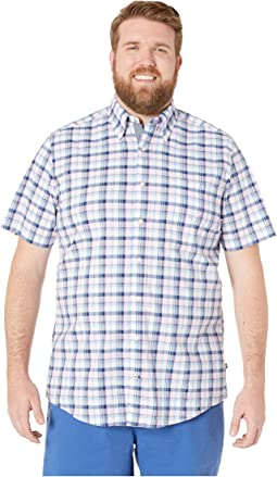 Big & Tall Casual Plaid Woven