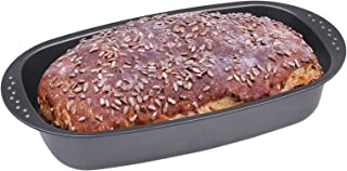 CHG 3444–03–Molde para Pan, Antiadherente, Antracita/metálico, 37x 20x 7cm