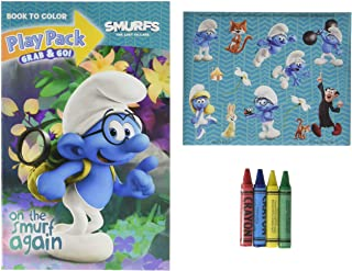 Bendon Smurfs The Lost Village Movie Grab & Go Play Pack