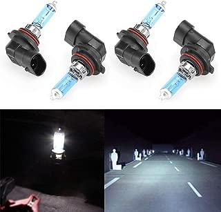 CK Formula (Pack of 4 Pieces) 9006-HB4 Super Bright White 5000K Xenon Halogen Headlight Light Bulbs (Low Beam) USA Seller