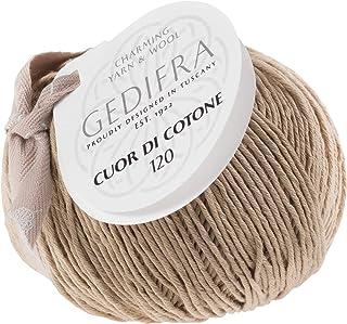 Gedifra 9810021-01053 Cotton Hand Knitting Yarn Cuor di Cotone