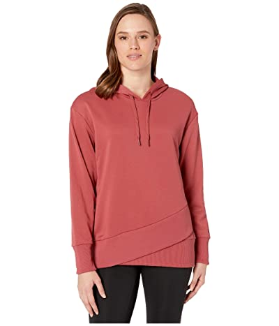 Nike Dry Fleece Get Fit Hooded TP Hem (Cedar/Black) Women