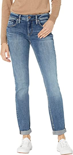 Boyfriend Mid-Rise Slim Leg Jeans L27101EPX217