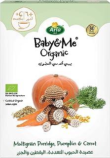 Arla Baby & Me Organic Multigrain Porridge, Pumpkin And Carrot, 210g (Pack of 1) (Pack of 1)