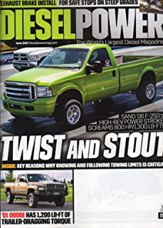 Diesel Power 2017 The World's Largest Diesel Magazine With Last Issue Cover On EXHAUST BRAKE IN INSTALL FOR SAFE STOPS ON STEEP GRADES Key Reasons Why Knowing And Following Towing Limits Is Critical