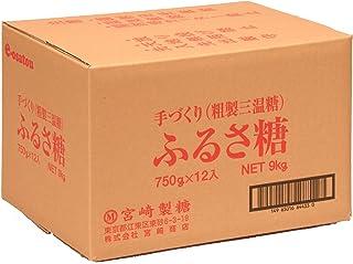 宮崎製糖 ふるさ糖(粗製三温糖) 750g×12袋