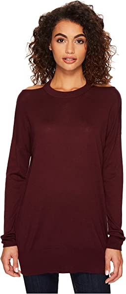 Splendid - Long Sleeve Cut Out Pollover