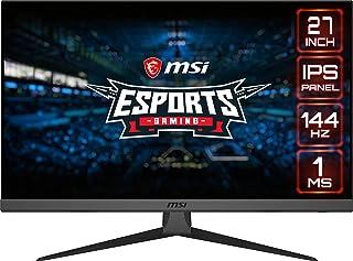 "MSI OPTIX G272 Gaming Monitör, Flat, 27"", FHD, IPS, 144HZ, 1MS, Adaptive Sync"