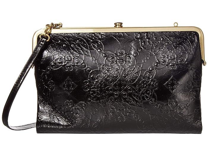 Vintage Handbags, Purses, Bags *New* Hobo Leanne Embossed Black 1 Handbags $158.40 AT vintagedancer.com