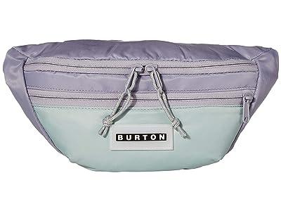 Burton Hip Pack (Lilac Gray Flight Satin) Handbags