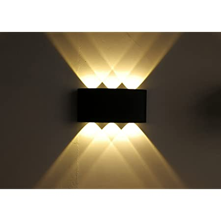 6W Modern COB LED Wall Light Up Down Cube Indoor Outdoor Sconce Lighting Lamp
