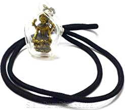 Jewelry Amulet Mae Laxmi Lakshmi Hindu Deity Goddess Rich Wealth & Lucky India Pendants