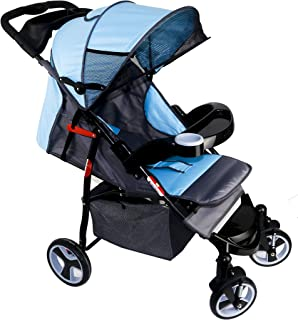 Baby Plus BP8761 Baby Strollers for Unisex, Blue