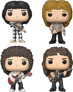 Funko Rocks: Pop! Queen - Roger Taylor, Brian May, John Deacon, Freddie Mercury Toy