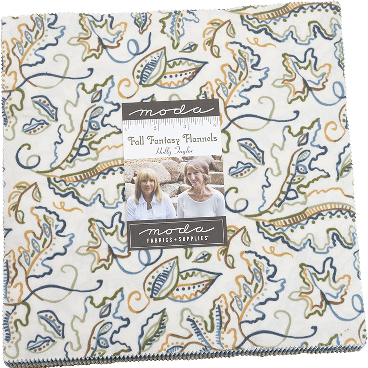 Fall Fantasy Excellent Flannels Layer Cake Quilt 42-10