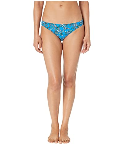MICHAEL Michael Kors Boho Fleur Classic Bikini Bottoms (Radiant Blue) Women