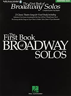 First Book of Broadway Solos: Baritone/Bass Edition
