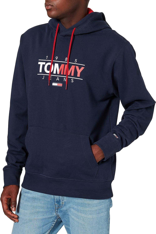 Tommy Jeans TJM Essential Graphic Hoodie Pantalones para Hombre