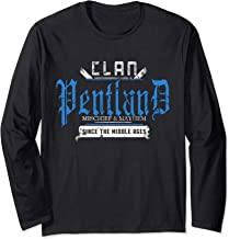 Clan Pentland Mischief and Mayhem Since The Middle Ages Long Sleeve T-Shirt