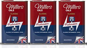 Millers Oil Classic Pistoneeze 15w40 Mineral Engine Oil  Litres