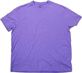POLO RALPH LAUREN Solid Color Short Sleeve Cotton T-Shirt